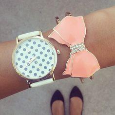 for the bow bracelet