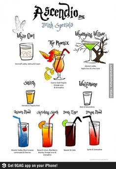 how to keep up energy harry potter