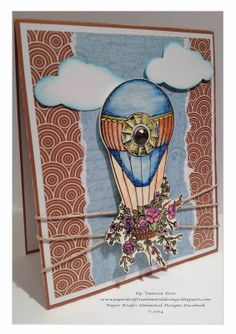 you make life Wonderful Card, Balloon Ride Card, Cards #cards, #CTMH,....more....>