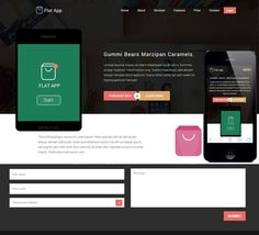 25 best Responsive Templates Free Download images on Pinterest ...