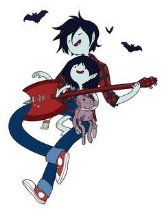 marceline, marshall lee, and adventure time image Marshall Lee Adventure Time, Adventure Time Marceline, Adventure Time Finn, Marshall Lee Anime, Abenteuerzeit Mit Finn Und Jake, Adveture Time, Marceline And Princess Bubblegum, Vampire Queen, Jake The Dogs