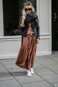 Relaxed street style x Just Style, Looks Style, Casual Looks, Adrette Outfits, Fall Outfits, Fashion Outfits, Look Rose, Look 2018, Cooler Look