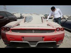 Top 10 coches de lujo abandonados en Dubai | MasQmotor