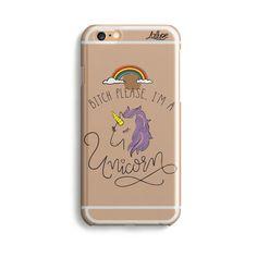 Capinha Para Celular Bitch Unicorn