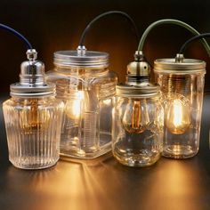 Easily replace & update your old pendant lighting with my DIY pendant light kit for brand new, quality metal fittings in your choice of finish & fabric flex Diy Pendant Light, Pendant Lamp, Pendant Lighting, Ceiling Light Shades, Diy Store, My Home Design, Cool Lamps, Jam Jar, Jar Lights