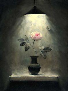 Artist painter Russian . Alexei Antonov  The Birth of Color