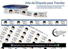 Ilustrações Catita Design: Arte para Etiquetas de Tecido - Transfer