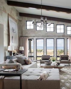 Dream House Interior, Dream Home Design, Home Interior Design, House Design, Home Living Room, Living Room Decor, Mellow Yellow, Room Inspiration, Family Room