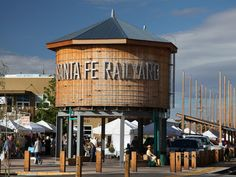 Santa Fe's Railyard District is now home to a vibrant arts and food scene, which features a Southwestern-flavored farmer's market on the weekends.