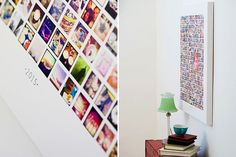 Instagram Canvas Collage Template for Photoshop & InDesign | Design Aglow