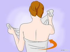 How to make a toga from a bed sheet.
