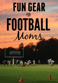 Fun Gear for Football Moms - Keeping Life Sane Tackle Football, Football Moms, Nebraska Football, Football Cheer, Girls Football Boots, Football Quotes, Football Season, Football Motivation, Football Players