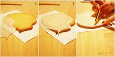 T�do lo que deber�as saber para calcar una imagen sobre galletas: 1� Parte {Foto Tutorial}