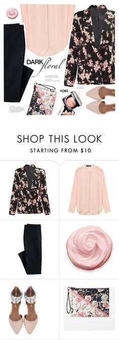 """""""In Bloom: Dark Florals(YOINS 1)"""" by meyli-meyli ❤ liked on Polyvore featuring Canvas by Lands' End, White House Black Market, Chanel, darkflorals, yoins, yoinscollection and loveyoins"""