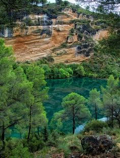River Guadiela, Cuenca, Spain