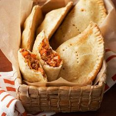 Pork and Sweet Potato Empanadas From Better Homes and Gardens, ideas and improvement projects for your home and garden plus recipes and entertaining ideas.