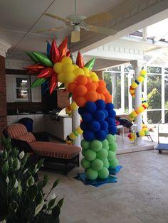 Balloon Columns, Balloon Decorations, Event Decor, Balloons, Create, Decor Ideas, Outdoor, Tips, Outdoors