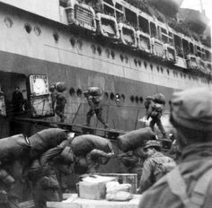 World War II: US Army troop ship