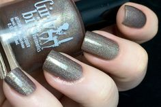 Girly Bits - Is That a Shillelagh in Your Pocket?Brown holo with gold and green shimmer