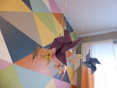 Project Nursery - DIY Pinwheel Mobile