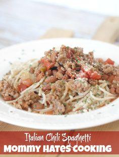 Italian Chili Spaghetti