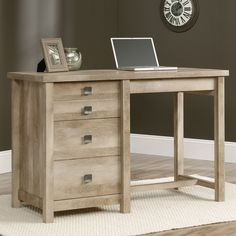 """Cannery Bridge Counter Height Work Table - 55.125""""W"""