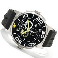Invicta Reserve Men's Sea Vulture Swiss Chronograph Stainless Steel Strap Watch ShopNBC.com