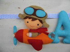 Felt Name, Garlands, Wool Felt, Kids Room, Dinosaur Stuffed Animal, Toys, Blog, Decor, Ideas
