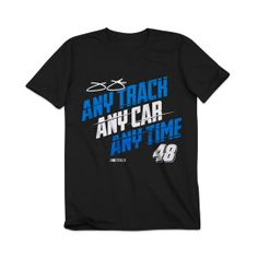 Race fans of all sizes like showing support for their favorite driver. This youth driver shirt lets them do just that!