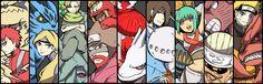 Tags: NARUTO, Uzumaki Naruto, Gaara, Kyuubi (NARUTO), Nii Yugito, Jinchuuriki, Killer Bee, Yagura, Roushi, Han, Utakata (NARUTO), Fuu (NARUTO), Shukaku, Tailed Beasts, Nibi no Bakeneko, Sanbi no Kyodaigame, Yonbi, Gobi, Rokubi, Nanabi, Hachibi, Pixiv Id 4519096