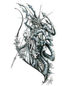 Des croquis de l'artbook Dark Souls - News IMAGES | JVL