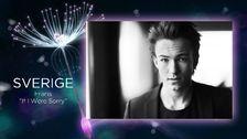 Sverige i Eurovision 2016: Frans – If I Were Sorry - Melodifestivalen | SVT.se