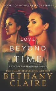 Love Beyond Time By Bethany Claire - From a USA Today bestselling author comes a breathtaking journey through time. Brielle stumbles over a spell that sends her 400 years into the past — where she's married to a laird who, according to the history books, is about to be murdered… With over 400 five-star Amazon reviews.