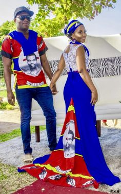 Bontle Bride is a wedding magazine with a flavour of culture. Featuring white and traditional weddings, tips, advice and inspiration./ A Swati Bride For A Perfect Mhlambiso Ceremony Latest African Fashion Dresses, African Print Dresses, African Print Fashion, African Dress, Africa Fashion, African Wedding Attire, African Attire, African Wear, African Outfits
