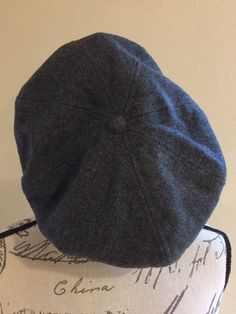 47165058a6b Vintage Scala Wool Ascot Ivy Cap Hat Gray Newsboy One Size Wool Blend   fashion