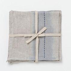 handmade linen napkins - Google Search