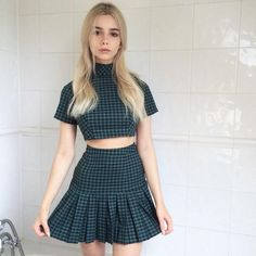 """{FC: Joanna Kuchta} """"Hi... I'm Adelaine. I'm a reject. I'm 18 and I have a crush on this guy but... I dunno if he likes me back. I'm big on smoking pot, but not cigarettes."""" I shake my head. """"And um... I have a panic disorder that I developed when I was raped at age 11."""""""