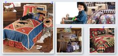 """Some tips for creating an """"outdoors"""" theme for a boy's bedroom"""