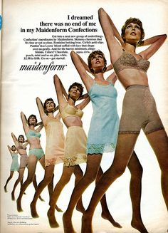 maidenform lingerie ads | Maidenform lingerie 1969 | Flickr - Photo Sharing!