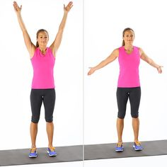 5 minute warm up for cardio exercise