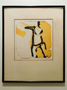 WILL PETERSON MODERNIST FIGURATIVE COLORED ORIG. SIGNED LITHO 1962 MID-CENT MOD