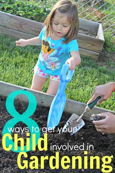 Gardening With Kids: 8 Ideas to Get Your Child Involved