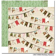 CBCT33010_Holiday_Banners Carta Bella Christmas Time