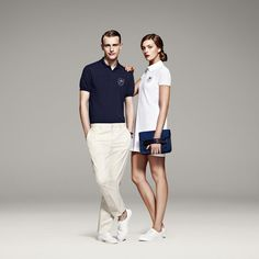 Lacoste 1930's style