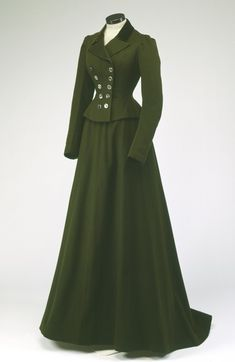 Riding Habit, 1900 victorian dress gown