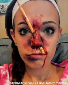 FX makeup -- Bad Fight -- special effect | FX halloween ...