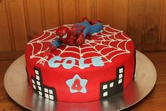 Already did a spiderweb on a cake for Nikelle's Charlotte's Web party so I know I can do that. Just need a figurine...