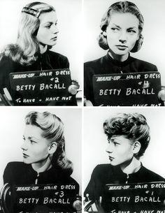 Before she was Lauren, c.1944 |