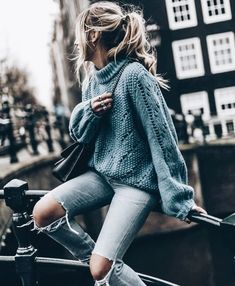 Each of these Pullover are made to take your outfit from basic to really fab in occurrences. Get motivated pullover outfit half zip Cute Winter Outfits, Fall Outfits, Casual Outfits, Christmas Outfits, Winter Dresses, Cute Winter Clothes, Cute Winter Sweaters, Winter Outfits Tumblr, Autumn Clothes
