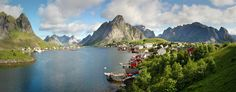 Reine in Lofoten, Norway